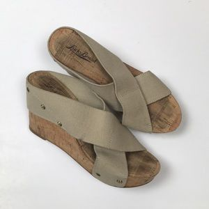Lucky Brand Miller2 Wedges Size 6.5